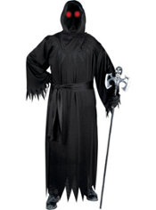Adult Light-Up Unknown Phantom Costume Plus Size