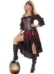 Adult High Seas Pirate Priestess Costume
