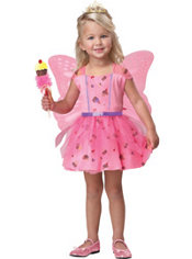 Toddler Girls 3 in 1 Sweet Fairy Princess Costume