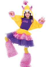 Girls Aarg Costume