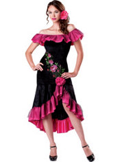 Adult Sexy Flamenco Costume