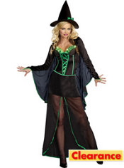 Adult Light-Up Wicked Me Witch Costume