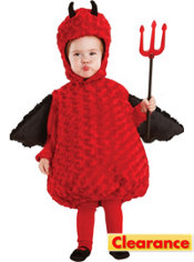 Baby Red Devil Costume