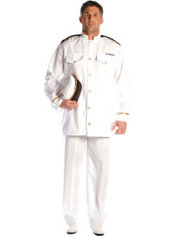 Adult Admiral Costume Plus Size
