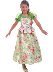 Girls Snow Flower Princess Costume