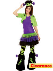 Girls Furry Creature Costume Deluxe