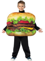 Boys Get Real Cheeseburger Costume
