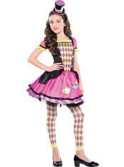 Girls Miss Mad Hatter Costume