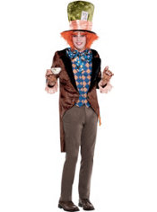 Adult Mad Hatter Costume Plus Size - Tim Burton's Alice in Wonderland