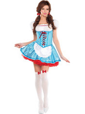 Adult Ruby Red Slipper Beauty Costume