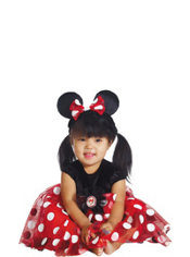 Baby Red Minnie Mouse Costume