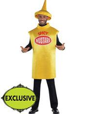 Adult Spicy Mustard Costume