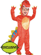 Toddler Boys Dinomite Dinosaur Costume