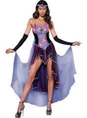 Adult Seductive Sorceress Costume Deluxe