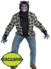 Adult Rabid Werewolf Costume Plus Size