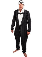 Jack Skellington One Piece Costume - The Nightmare Before Christmas
