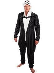 Jack Skellington One Piece Costume - The Nightmare Before Christmas