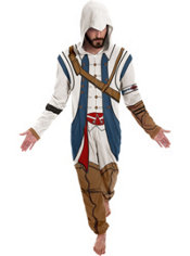 Connor One Piece Costume - Assassin's Creed