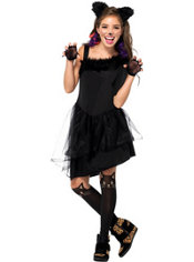 Girls Jinxy Kitty Cat Costume