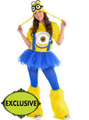 Adult Tutu Minion Costume - Despicable Me