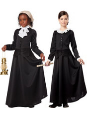 Girls Colonial Costume