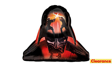 Foil Darth Vader Balloon 37in