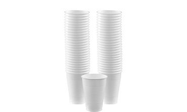 White Plastic Cups 12oz 50ct