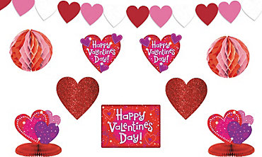 Love Crazy Valentine's Day Decorating Kit 10pc