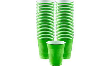 Kiwi Plastic Cups 16oz 50ct