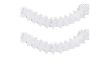 White Paper Garland 12ft