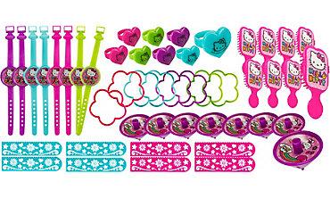 Rainbow Hello Kitty Favor Pack 48ct