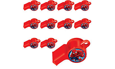 Spider-Man Whistles 48ct