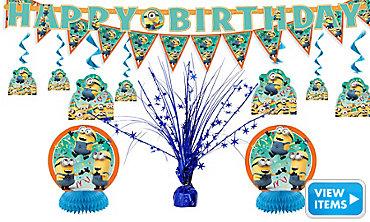 Despicable Me Party Decorations Kit