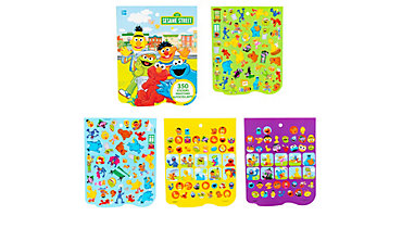 Jumbo Sesame Street Sticker Book 8 Sheets
