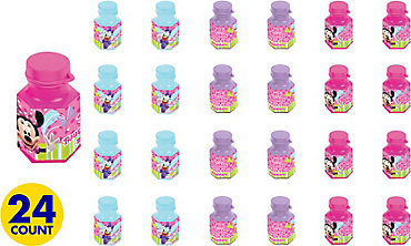 Minnie Mouse Mini Bubbles 24ct