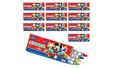Mickey Mouse Crayon Boxes 24ct