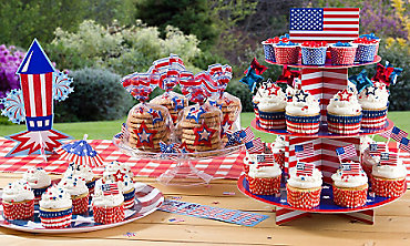 Patriotic Baking Supplies