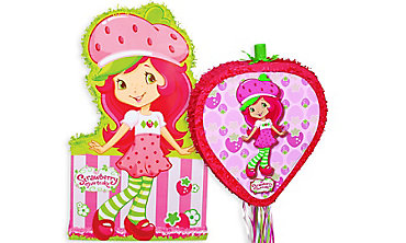 Strawberry Shortcake Pinatas