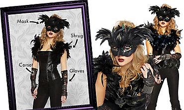 Fantasy Raven Mix & Match Women's Looks