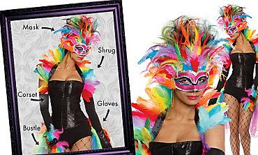 Rainbow Bird Mix & Match Women's Looks