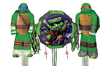 Teenage Mutant Ninja Turtles Pinatas
