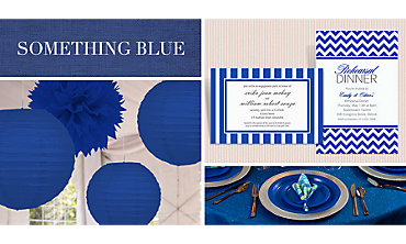 Navy Wedding Supplies