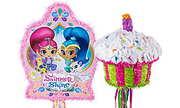 Shimmer and Shine Pinatas