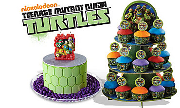 Teenage Mutant Ninja Turtles Cake Supplies