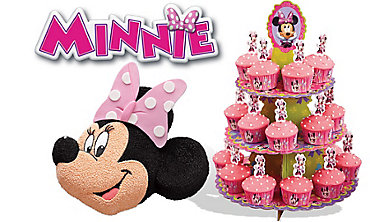 Minnie Mouse Cake Supplies
