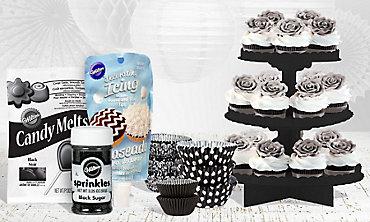 Black Baking Supplies