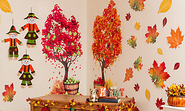 Fall Wall & Window Decorations