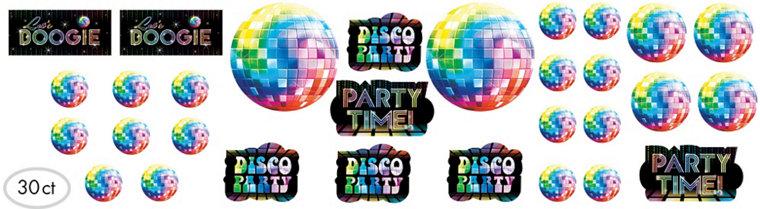 Disco Fever Cutouts 30ct