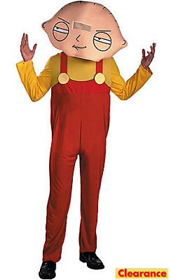 Adult Stewie Costume - Family Guy