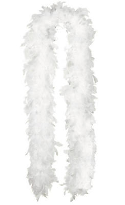 White Feather Boa 72in